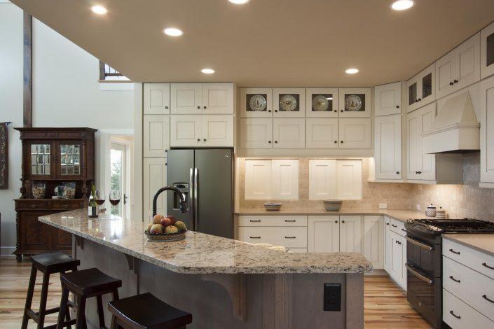 Kitchen, Asheville, Scott W Bartholomew Architect