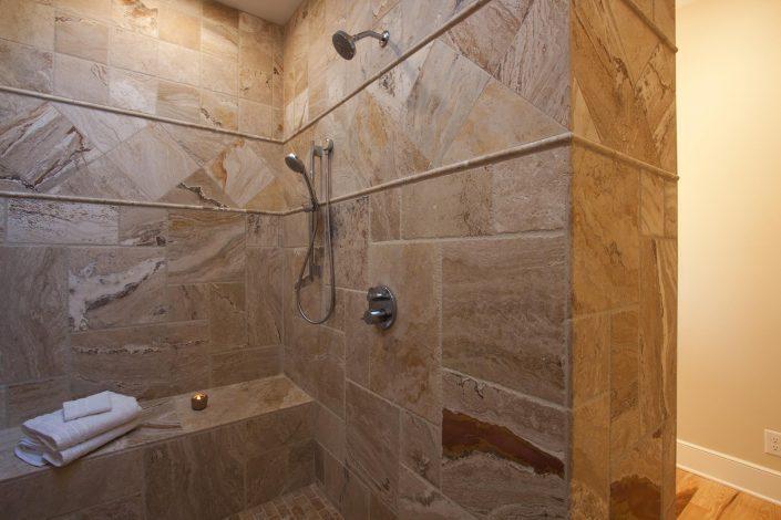Shower, Asheville, Scott W Bartholomew Architect