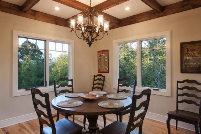 Dining, Asheville, Scott W Bartholomew Architect