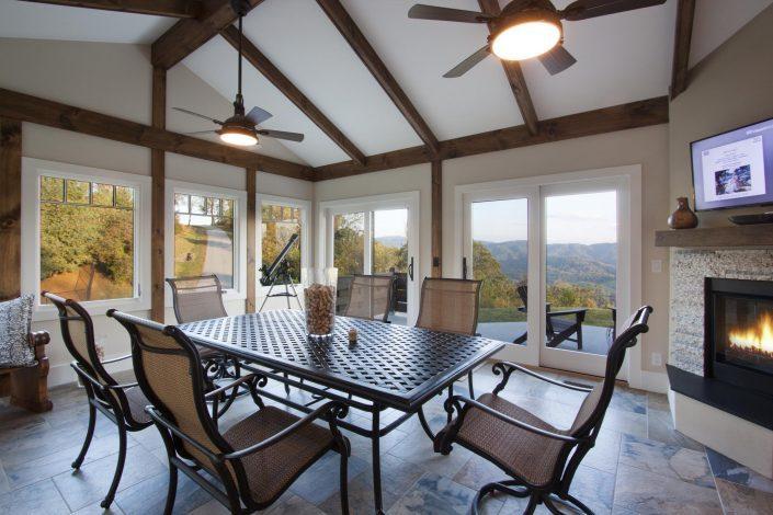 Sunroom, Asheville, Scott W Bartholomew Architect