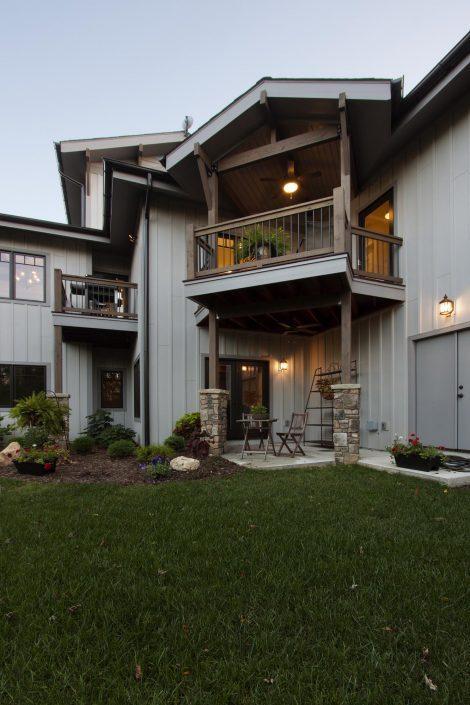 Porch, Asheville, Scott W Bartholomew Architect